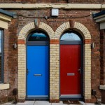 Welsh Street property upgraded with DOORCO's Farmhouse composite doors