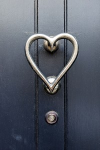 It may be a while until Valentine's day, but this soppy knocker has a certain romance to it.